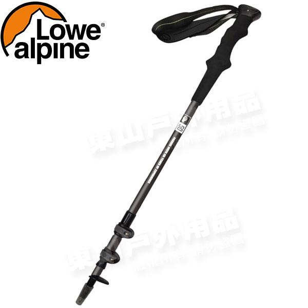 Lowe Alpine 54221001-A黑色50周年碳纖維登山杖無避震可當拐杖健走杖健行手杖行山杖