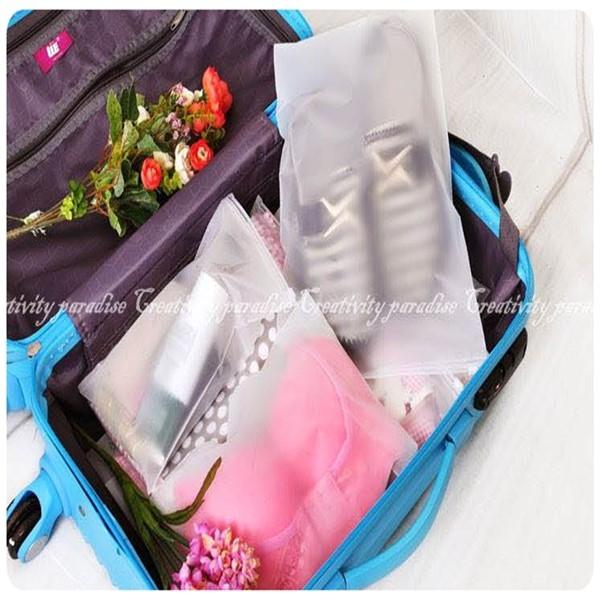 【夾鏈防水袋最小號】10x14.7cm旅行小物 拉鍊封口式 整理袋 密封收納袋 夾鏈袋