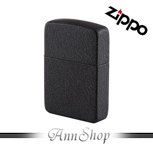 【Zippo‧Black黑裂紋烤漆打火機】全球知名防風打火機‧情人禮物