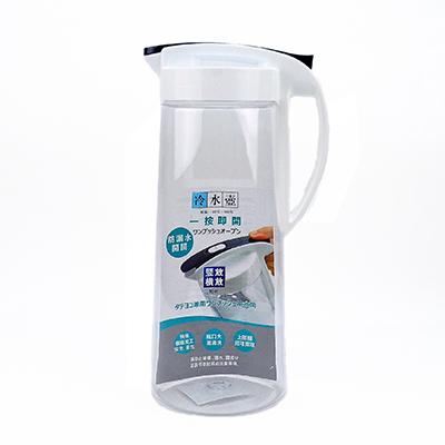 一鍵式可橫躺冷水壺2100ml冷水壺大容量冷水壺耐熱冷水壺不易漏水冷水壺mocodo魔法豆