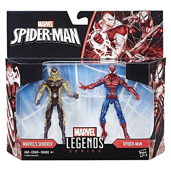 MARVEL漫威人物蜘蛛人震動人雙人組3.75吋模型人偶孩之寶Hasbro 51722