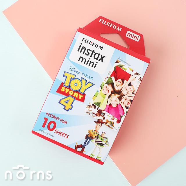 【mini玩具總動員4底片紅盒】Norns富士拍立得迪士尼instax mini 8 9 25 70 90 Printoss適用