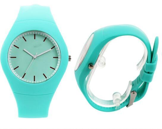 現貨運動手錶手環路跑跑步對錶情侶錶觸控手鐲果凍錶智慧手錶兒童錶