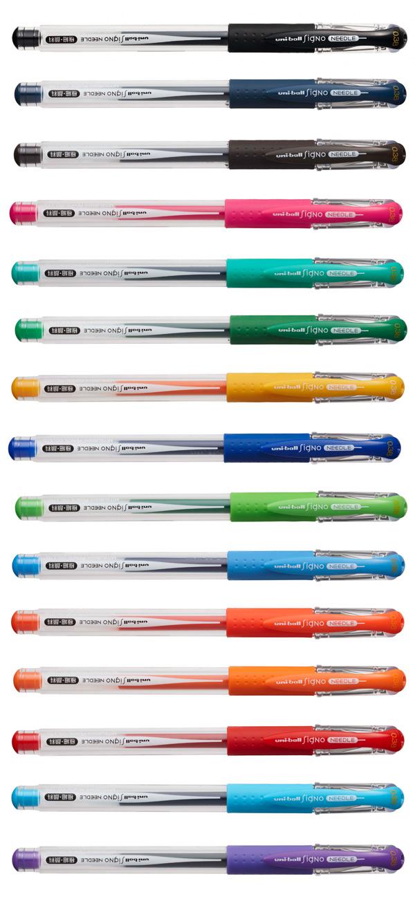 UNI 三菱 針式超細 0.38 鋼珠筆 UM151ND uni-ball Signo needle 買二送一支(贈品顏色隨機出貨)