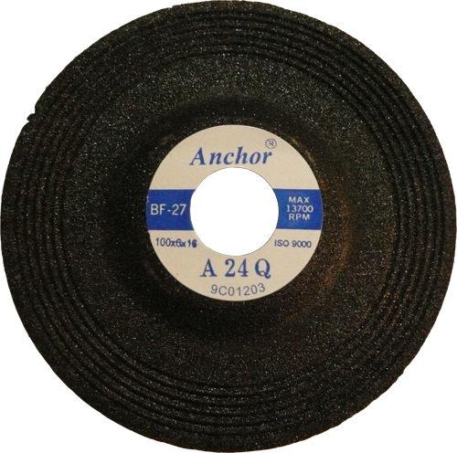 研磨砂輪 平面砂輪 4英吋 100mm 上黑下紅 一般研磨砂輪 工件加工 研磨 平面砂輪機 專用