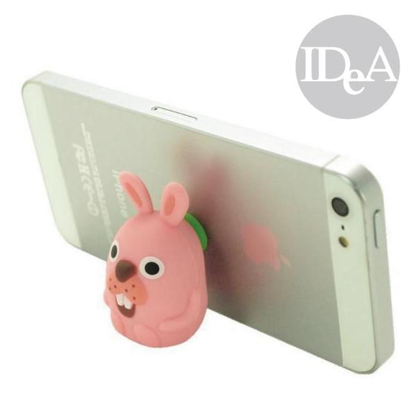 LINE POKO兔吸盤手機支架立架熊大兔兔饅頭人莎莉鴨青蛙粉紅波兔村保衛戰PANG非賤兔監獄兔