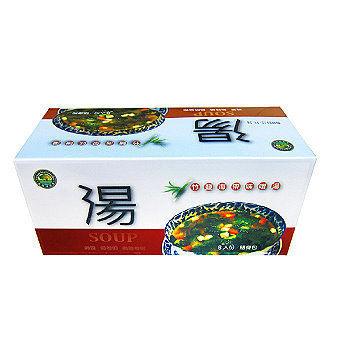 台灣綠源寶竹鹽海帶味噌湯8包盒一盒純素無味精無防腐劑