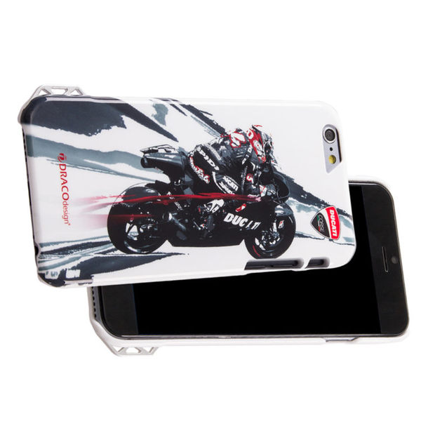 ★送原廠摺疊手機背蓋★DRACOdesign x DUCATI iPhone 6(4.7吋)聯名保護殼/Moto GP2