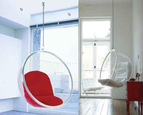 南洋風休閒傢俱設計單椅系列-設計師泡泡椅懸吊式太空球時尚吊椅太空椅星空球510-2