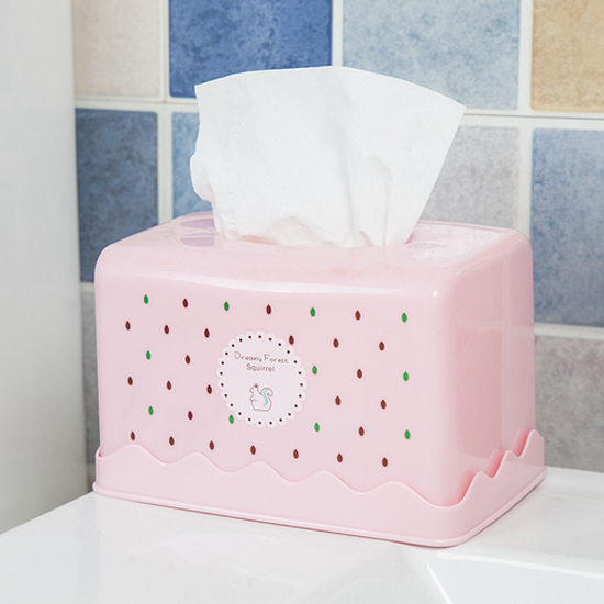 ♚MY COLOR♚小清新圖案面紙盒(長方形) 抽取 桌面 抽紙 衛生紙 餐巾 捲紙 臥室 紙巾【F47】
