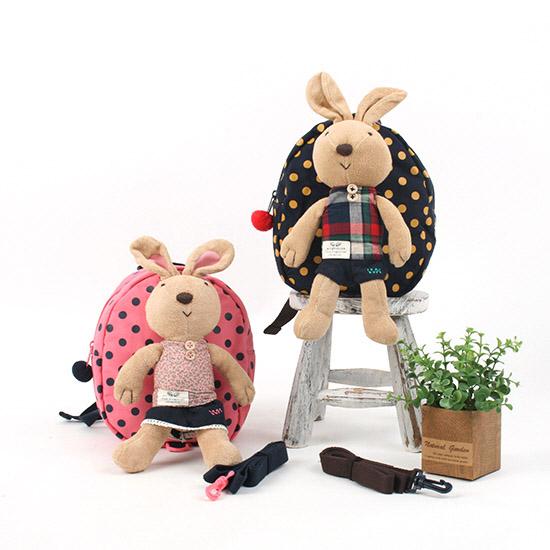 韓國原廠Winghouse兔子玩偶防走失背包R1451