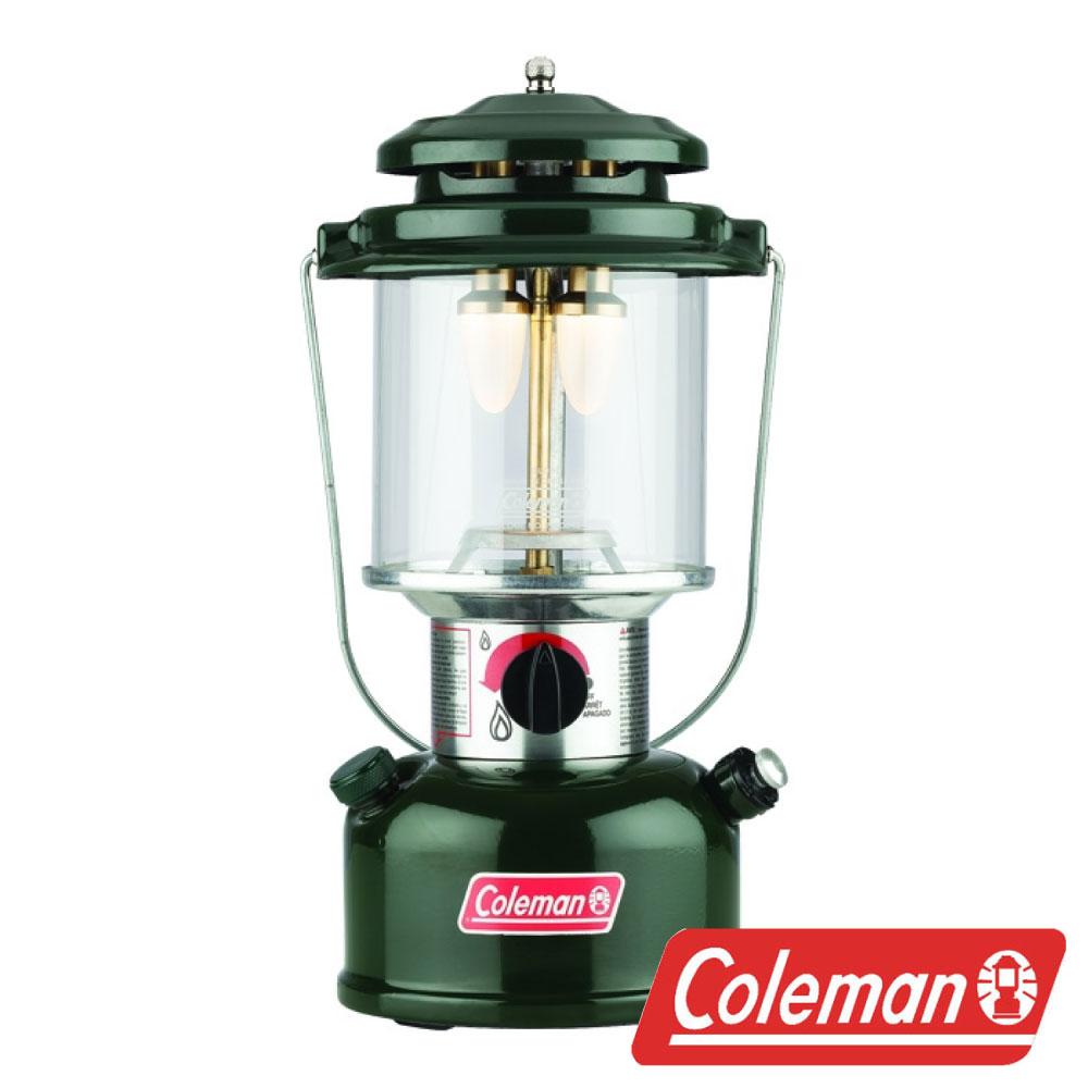 美國Coleman BATTERYLOCK 295懷舊LED營燈-綠CM-04608瓦斯燈電子日光營燈氣化燈LED營燈露營