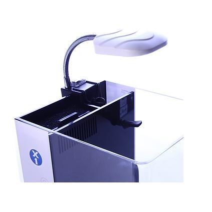 台中水族台灣MACRO-X3 LED小夾燈36顆白燈白色黑色二色可選特價
