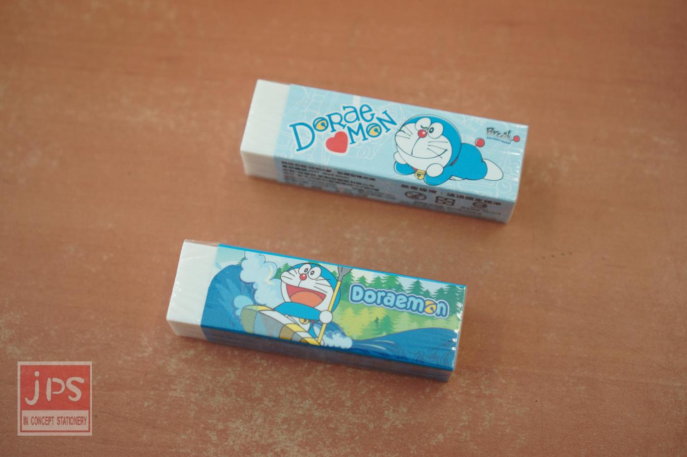哆啦A夢 黏屑型橡皮擦 (愛心&划船)