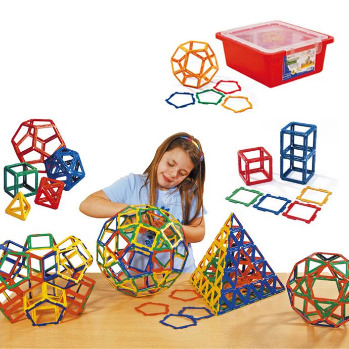 華森葳兒童教玩具建構積木系列-英皇寶利智慧片-空心基本組N9-21X