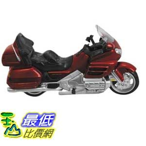 [美國直購 ShopUSA]  New Ray Toys 1:12 Scale Street Model Honda 2010 Goldwing Burgandy 57253A  $747