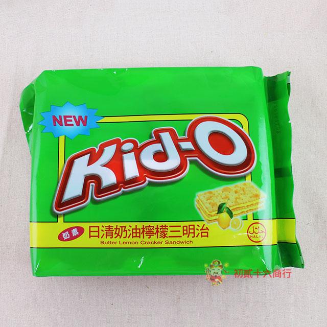 菲律賓零食Kid-O日清奶油檸檬三明治分享包-350g 0216團購會社4807770190278