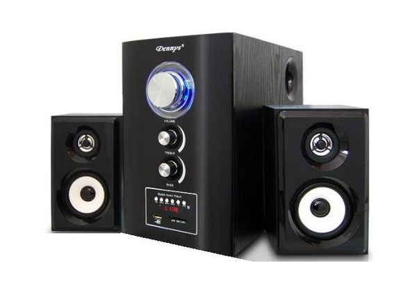 中彰投電器Dennys2.1聲道USB SD遙控多媒體音箱喇叭T-700S全館刷卡分期免運費