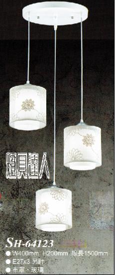 布罩餐桌燈64123家庭/咖啡廳/居家裝飾/浪漫氣氛/藝術/餐桌/燈具達人