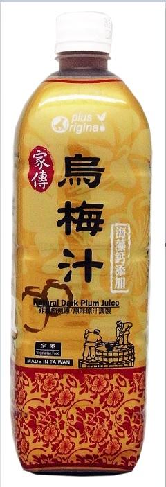 味榮展康烏梅汁1000mlx12瓶箱~非濃縮還原