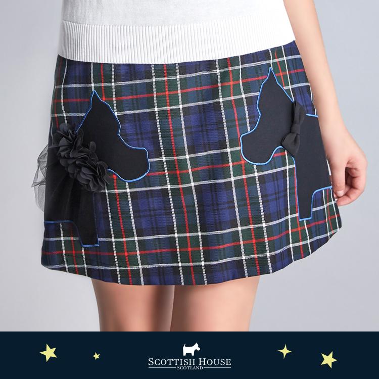 甜蜜情侶對看狗短裙 Scottish House【AJ2101】