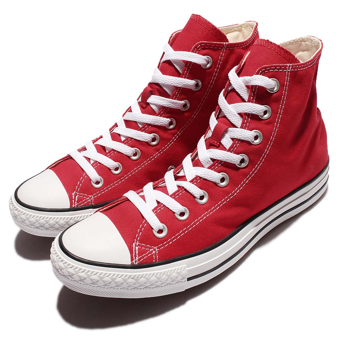 Converse Chuck Taylor All Star紅白基本款帆布鞋男鞋女鞋PUMP306 M9621C