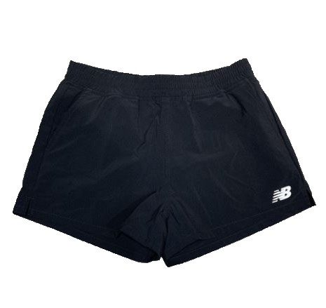 New Balance 女款運動短褲 黑 -NO.6871920189