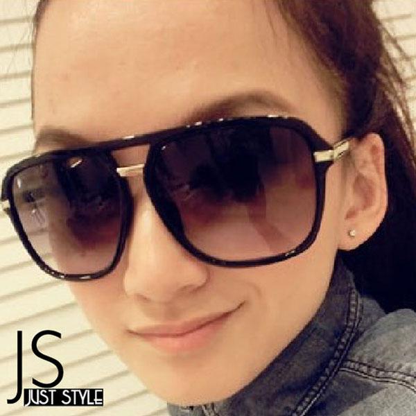 太陽眼鏡【JS精心苑】顯廋大框太陽眼鏡/墨鏡/飾品/配件/配飾/男女通用