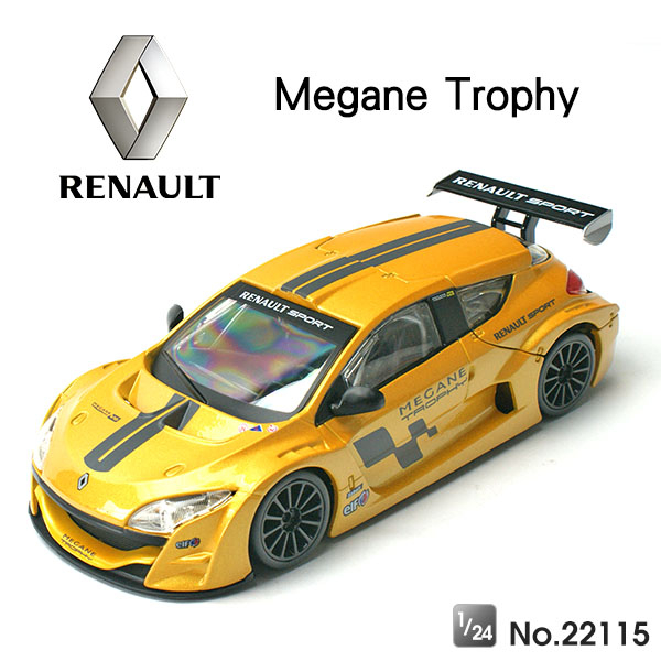Amuzinc酷比樂原廠授權合金車1 24雷諾Renault Megane Trophy