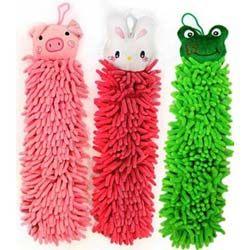 [AWANA超細纖維動物造型擦手巾1入
