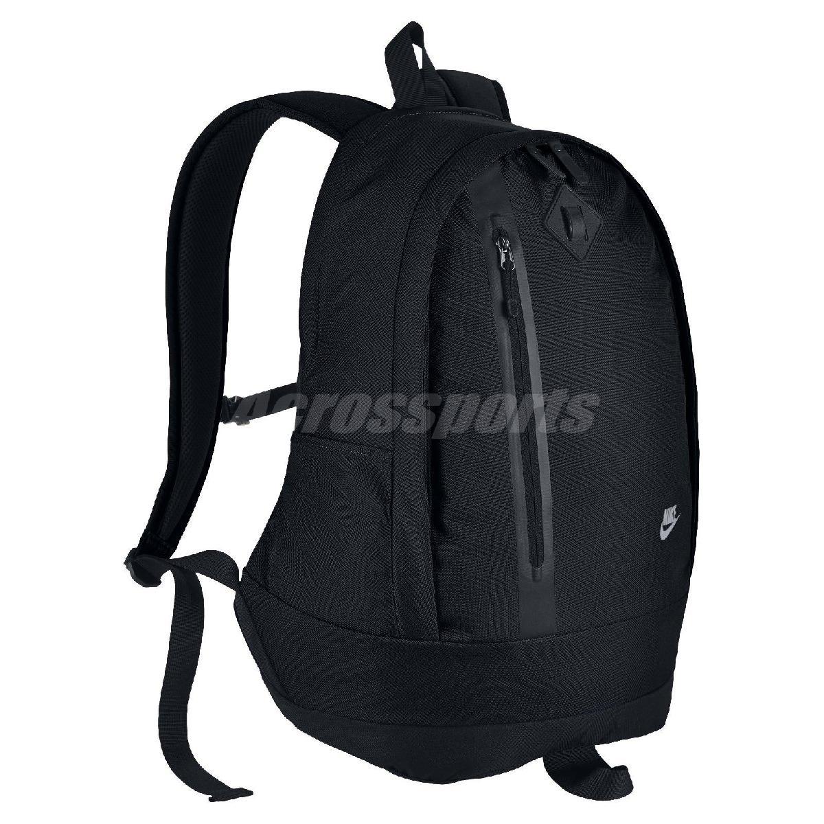 Nike後背包Cheyenne黑全黑色拉鍊經典包包筆電包書包男女PUMP306 BA5230-010