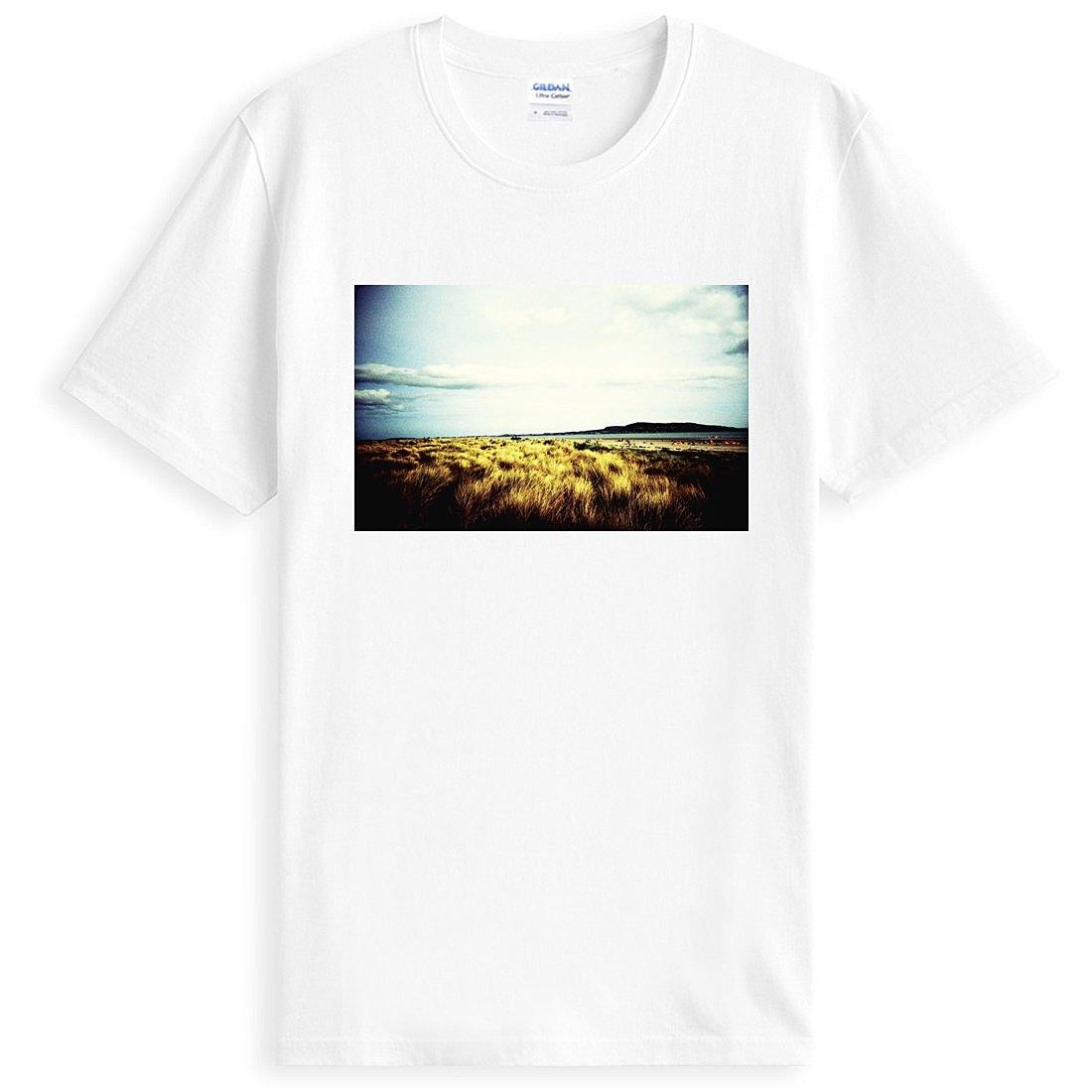 Lomo-island 短袖T恤-白色 Lomography照片相片 搖滾風景樂團美國棉筒T現貨390 gildan