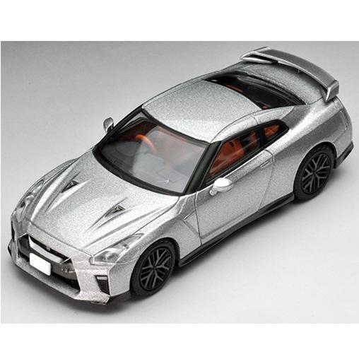 TOMYTEC小汽車 LV-N148b 日產Nissan GT-R 2017model (銀色)