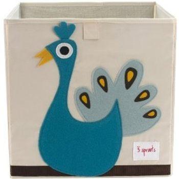 【原廠公司貨】加拿大3 Sprouts 收納箱~土耳其藍孔雀