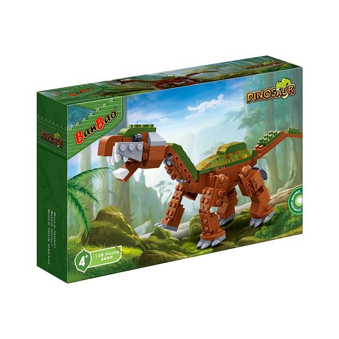 侏羅紀系列 NO.6858長頸巨龍 電影 恐龍(與樂高Lego相容)【BanBao邦寶積木楚崴】