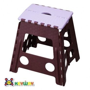 KEYWAY休閒摺合椅紫色款PP-0119 39x32.2x39.5cm