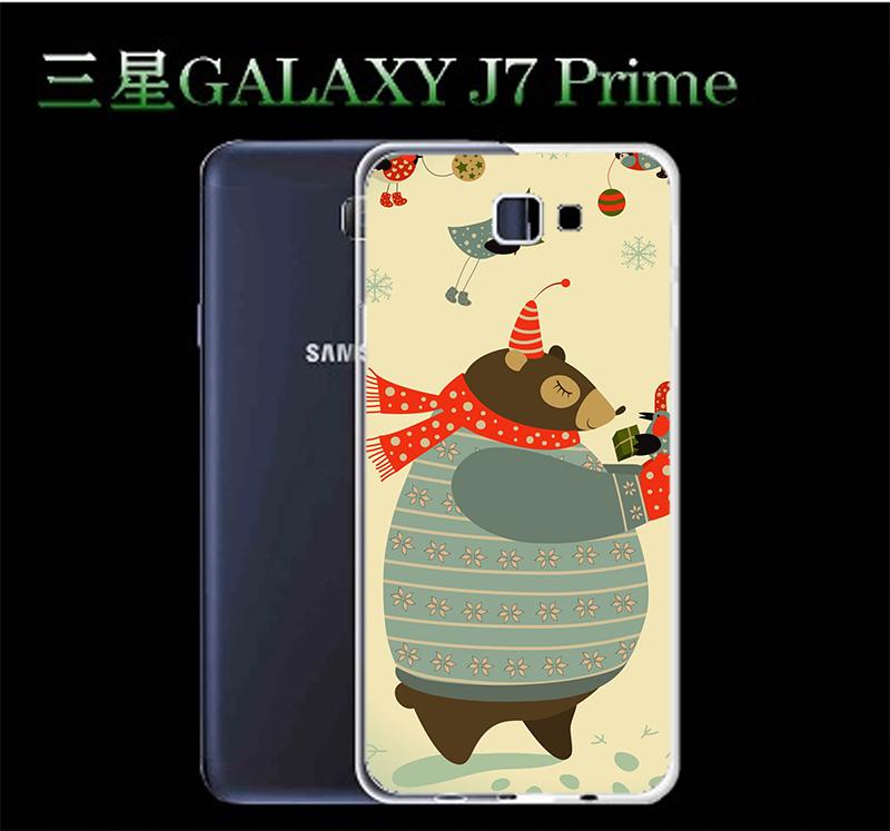 3C膜露露胖胖熊軟殼Samsung Galaxy J7 Prime手機殼手機套保護套保護殼