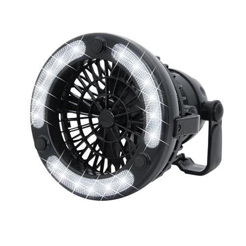 LED露營風扇燈三段風速