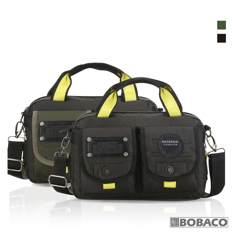 【戶外手提斜跨兩用包(大) S3177】手提包 肩背包 側背包 戶外登山包 工具包 工作包 外出包