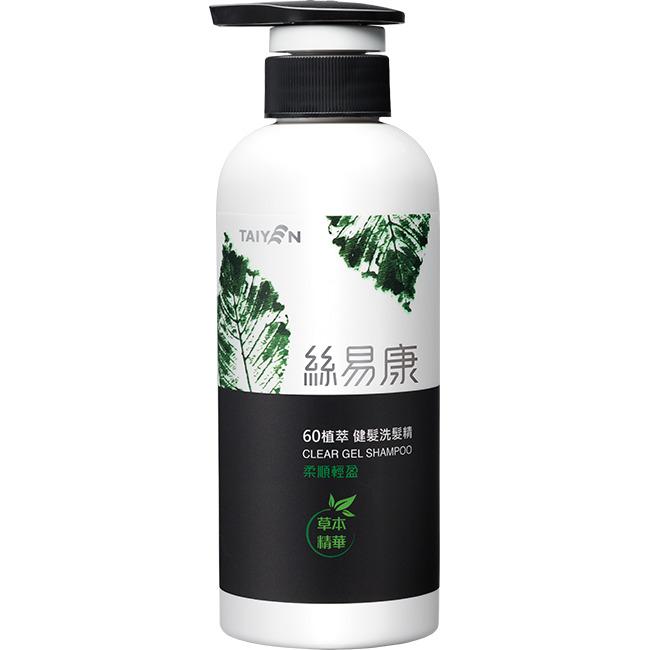 台鹽 絲易康60植萃洗髮精-柔順輕盈350ml