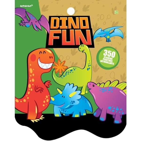 貼紙本350小張-小恐龍
