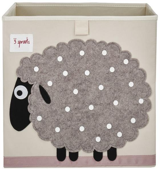 【加拿大 3 Sprouts】收納箱-綿羊款