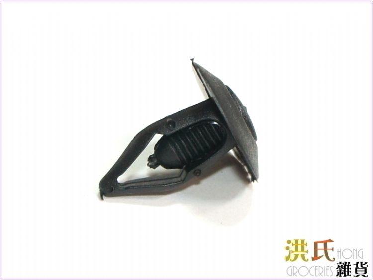 【洪氏雜貨】256A139 A005 門板扣子 黑色 汽車改裝門板扣 卡扣 卡子 塑膠門扣 扣子 固定扣 塑料