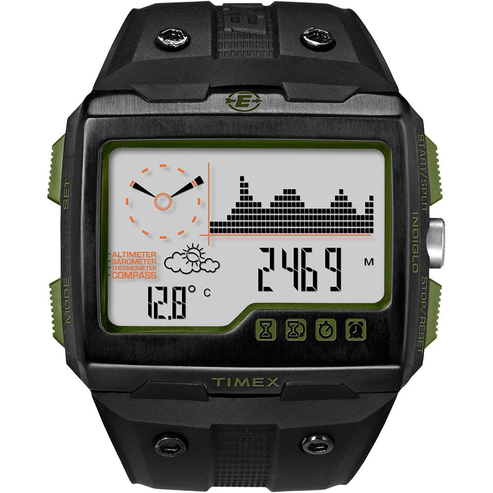 【TIMEX】遠征系列 Expedition WS4 多功能手錶(黑 TXT49664)
