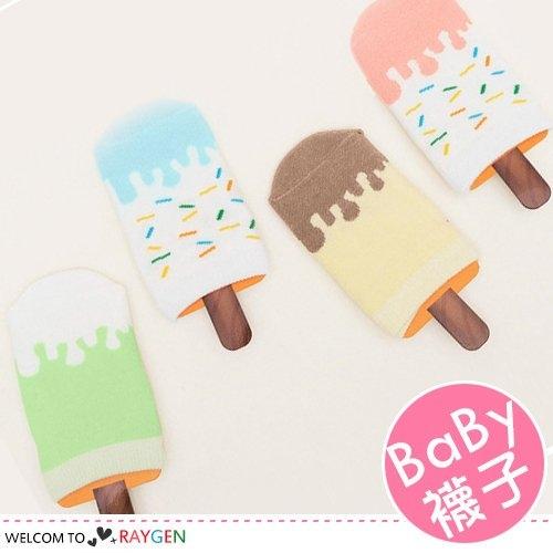 創意冰棒造型寶寶襪地板襪
