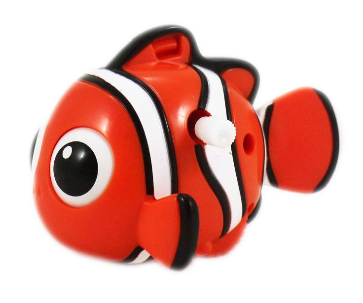 卡漫城尼莫發條可動公仔版Nemo玩具擺飾裝飾收藏小丑魚海底總動員Finding辦公桌