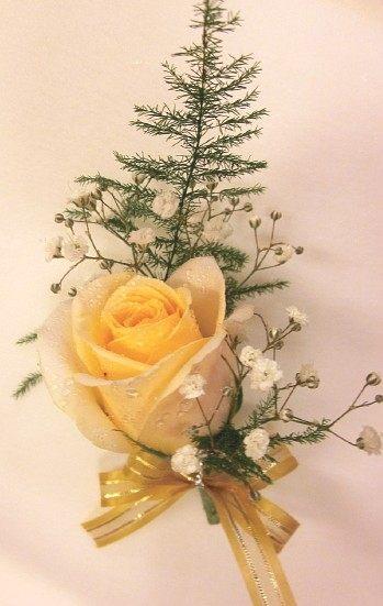 (YD-1624)婚禮會場必備婚禮小物~婚禮&活動&貴賓用胸花(玫瑰花)每組50元~