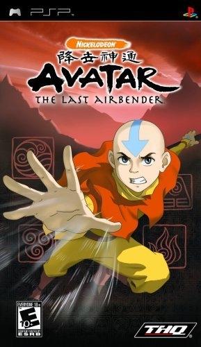 PSP Avatar The Last Airbender 降世神通:最後的氣宗(美版代購)