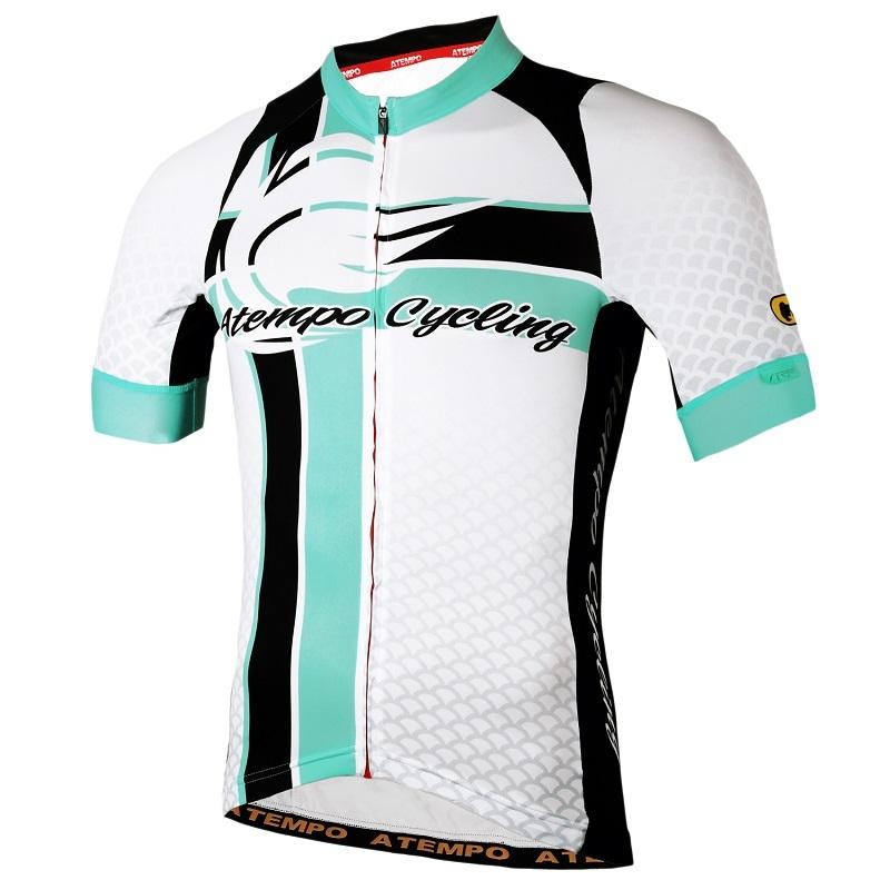 ATEMPO SRR競速系列男款短袖車衣黑白色藍綠白爭鋒白