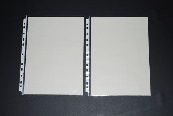 [鼎盛] 768-A4-11孔PP真珠條內頁附紙20張/包